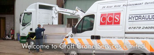 Welcome to Croft Crane Services Limited